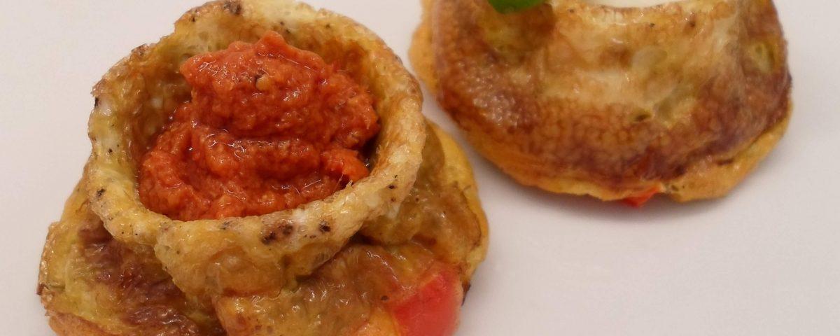 Low Carb Frühstücksmuffins Rezept - pikant & herzhaft