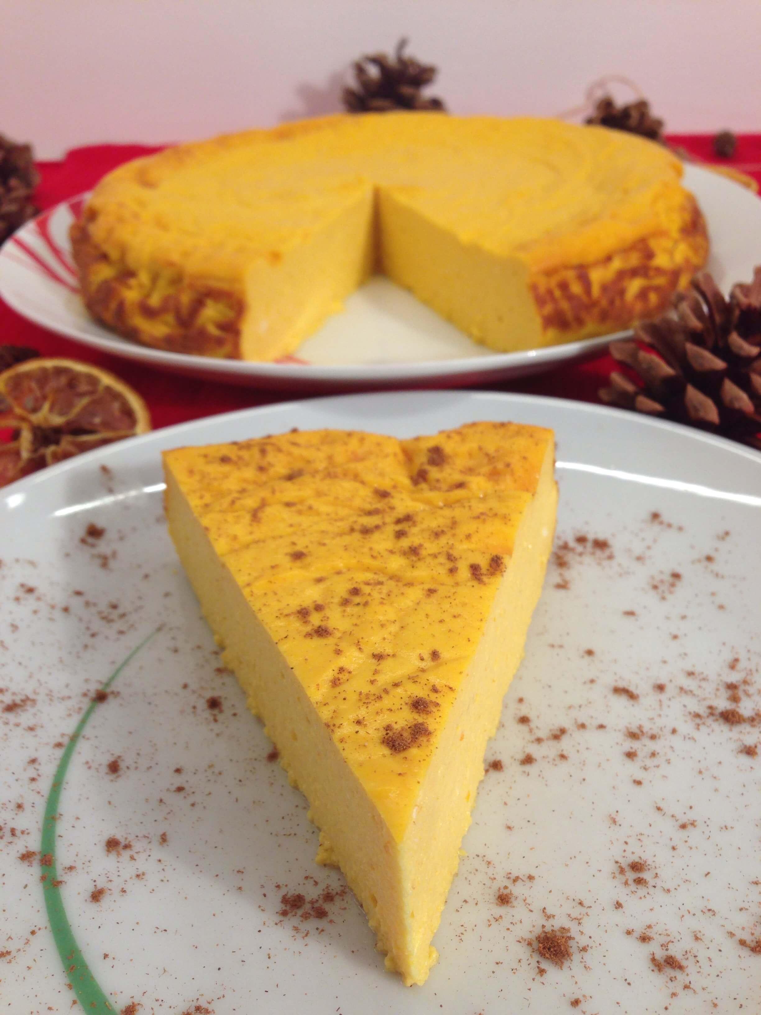 Low Carb Kurbiskuchen Rezept Ein Herbstlicher Cheesecake Traum