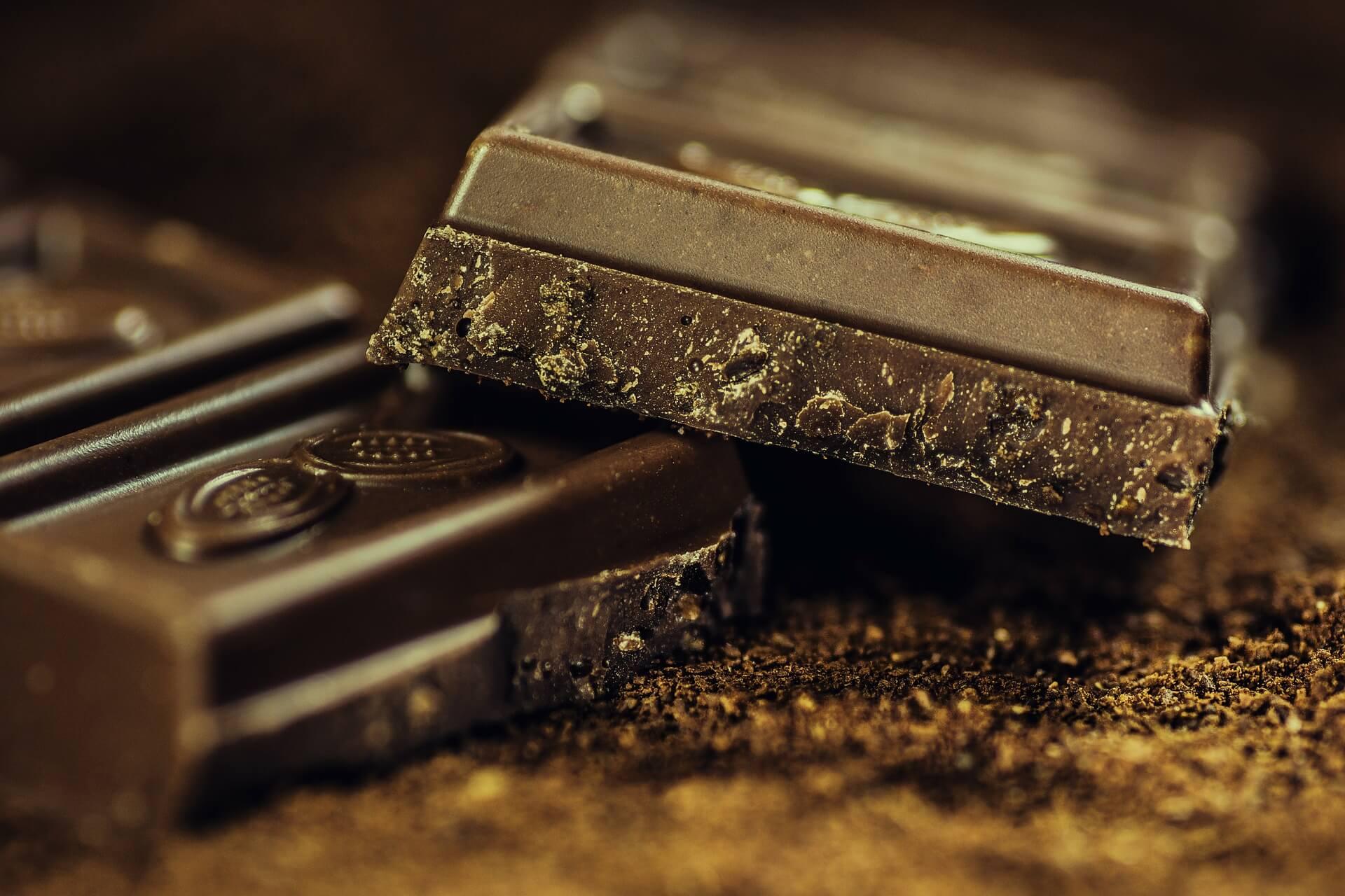 Dunkle Schokolade fettreich und Low Carb!