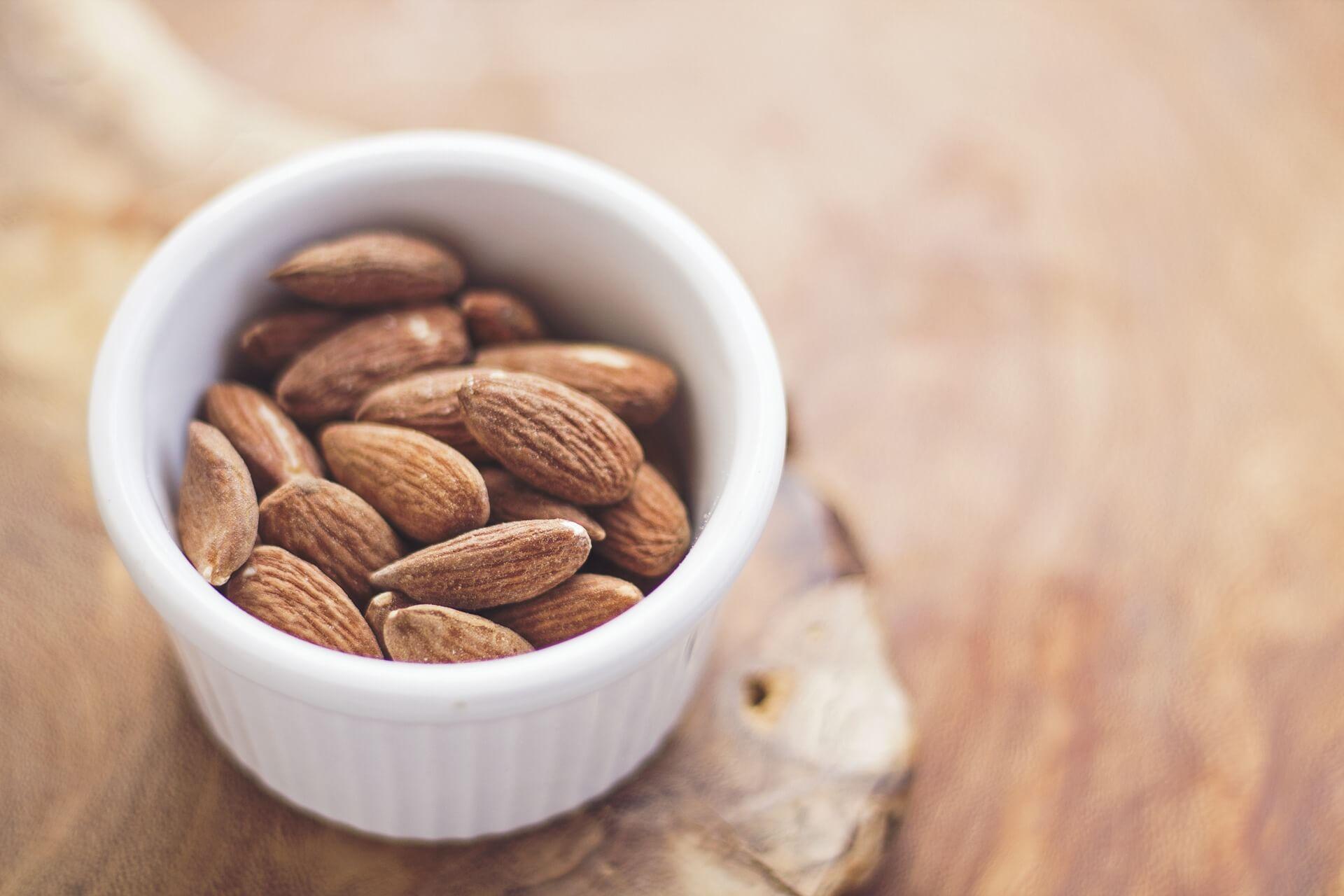 Mandeln fettreiche Lebensmittel Liste