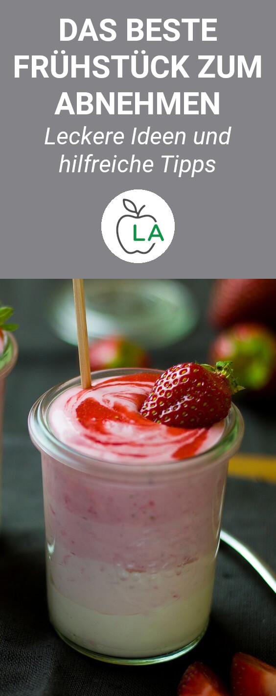 Erdbeer Vanille Shake mit Quark