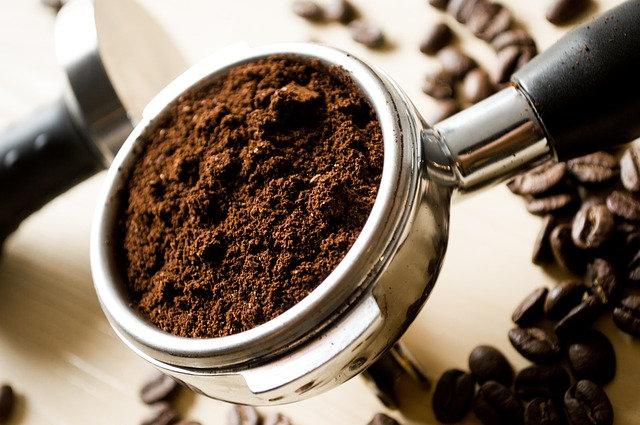 Gemahlener Kaffee zur Espresso Zubereitung