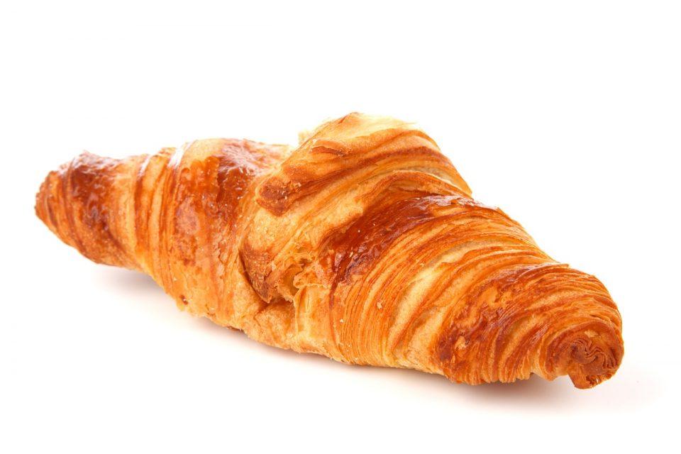 Ungesunde Lebensmittel Croissants und Backwaren - Transfettsäuren