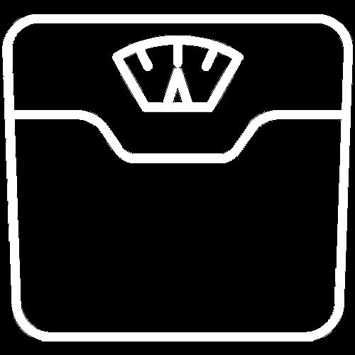 Wunschgewicht erreichen Icon