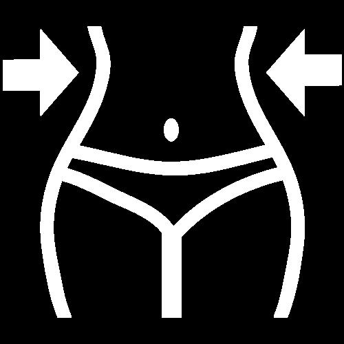 Körperfett abbauen Icon