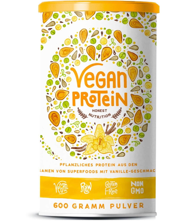 Veganer Eiweißshake zum Abnehmen