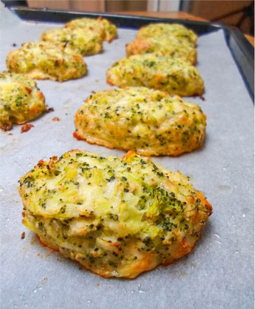 Low Carb Brokkoli Käse Nuggets - Kohlenhydratarmes Rezept