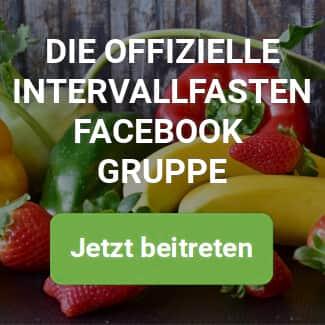 Facebook Gruppe für Intermittent Fasting