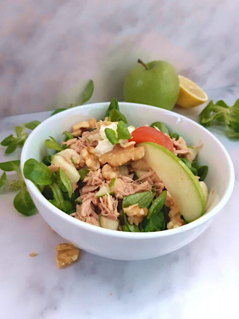 Low Carb Apfel Thunfisch Salat
