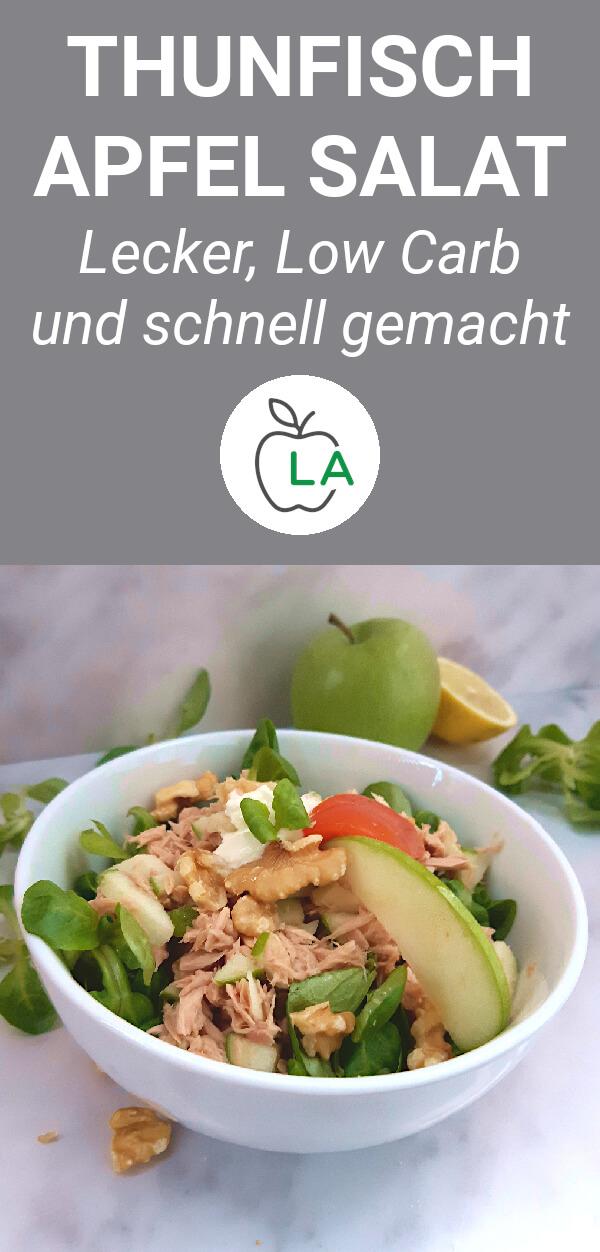 Thunfisch Apfel Salat Rezept