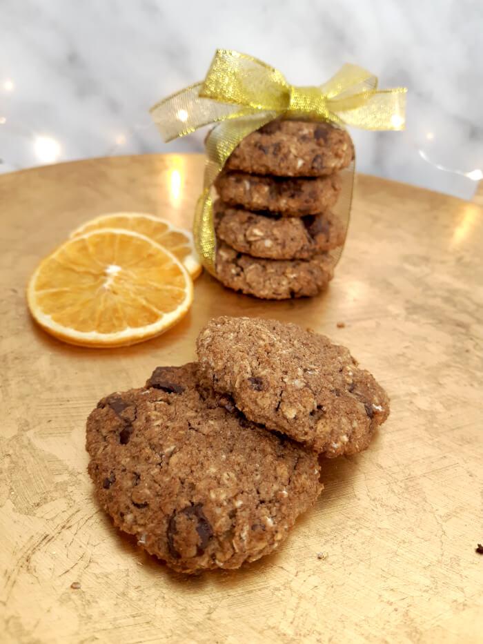 Zimt-Schokocookies