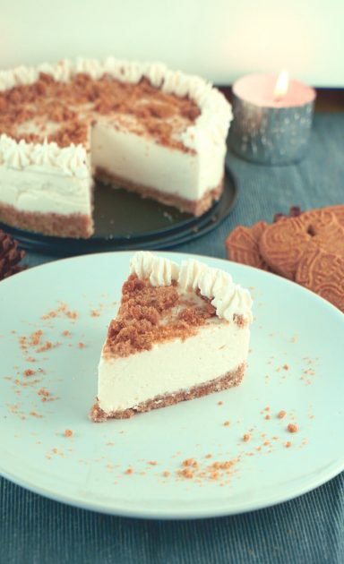 Gesunder Spekulatius Cheesecake - Rezept ohne Backen