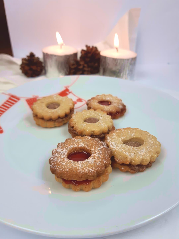Low Carb Spitzbuben (Linzer Kekse)