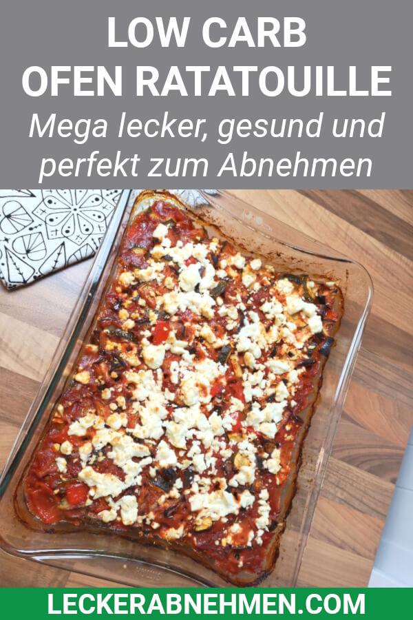 Ofen Ratatouille nach der Zubereitung