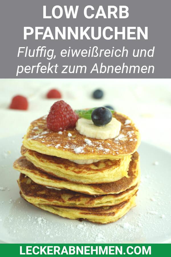 Pfannkuchen für die Low Carb Diät