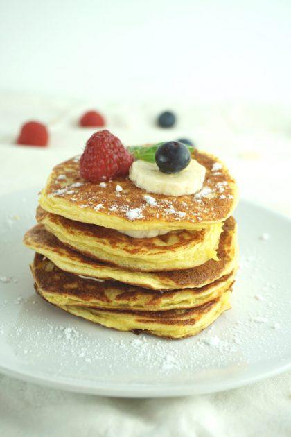 Low Carb Pfannkuchen zum Abnehmen