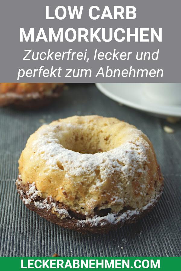 Mamorkuchen für die Low Carb Diät