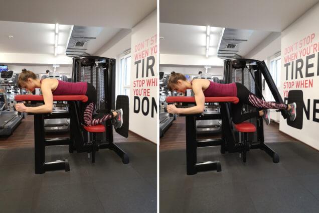 im fitnessstudio am bauch abnehmen