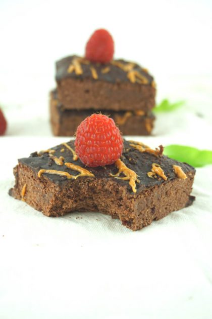 Low Carb Schoko Brownies aus Kidneybohnen