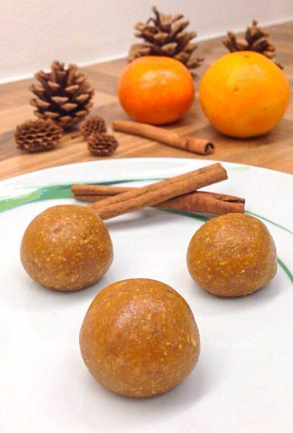 Energyballs mit Haferflocken und Erdnussbutter - Einfaches Rezept