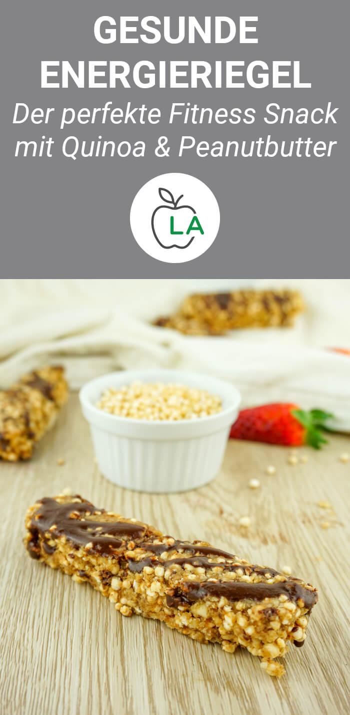 Gesunde Quinoariegel zum Abnehmen