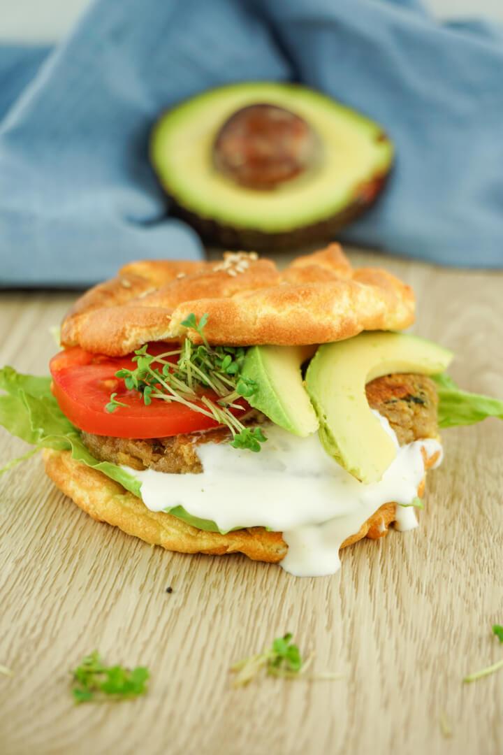 Low Carb Burger - Rezept für Patties und Buns