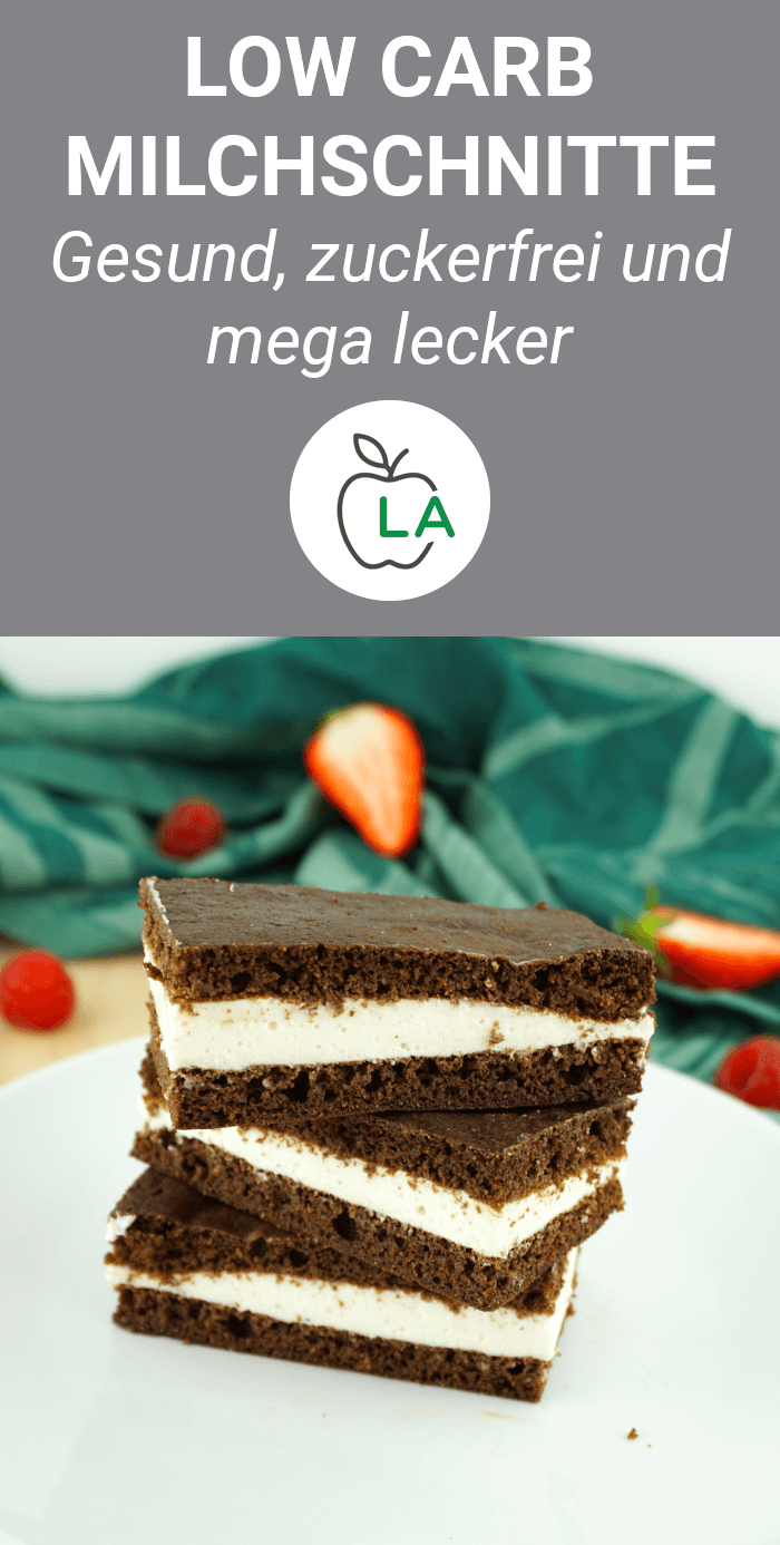 Low Carb Protein Milchschnitte