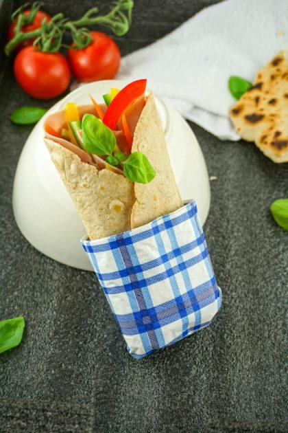 Low Carb Wrap Teig - Kohlenhydratarmes Rezept