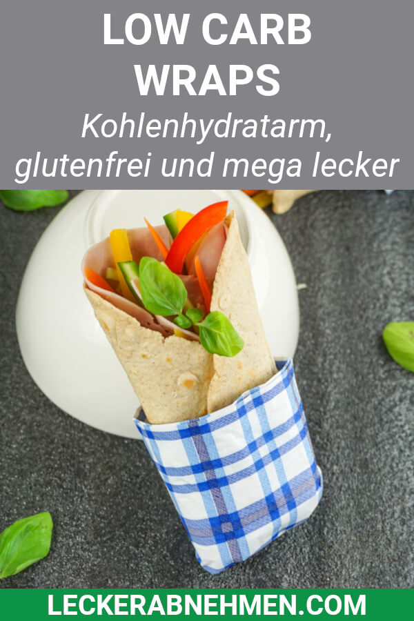 Low Carb Wrap Teig Rezept