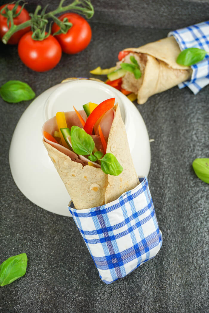 Low Carb Wraps - Kohlenhydratarme Tortilla Fladen