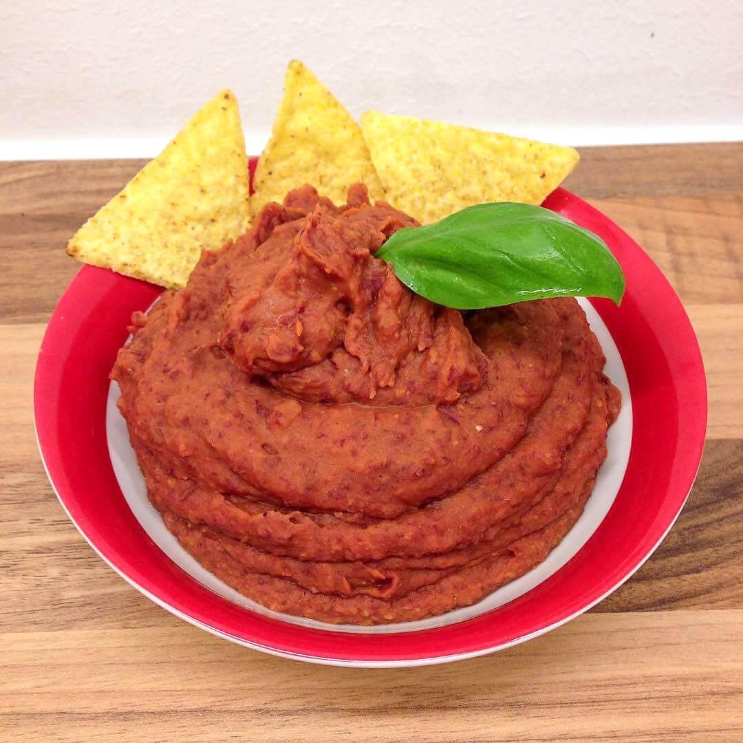 Mexikanisches Bohnenmus Rezept - Gesundes Fitness Gericht