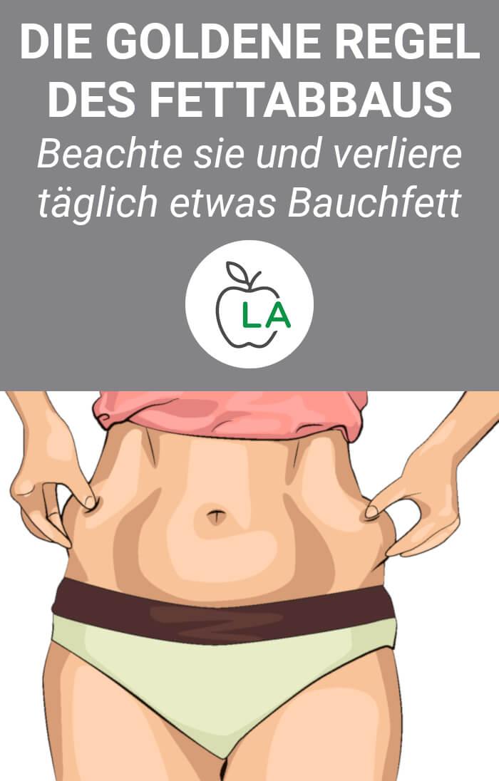 Bauchfett verlieren durch flexible Ernährung