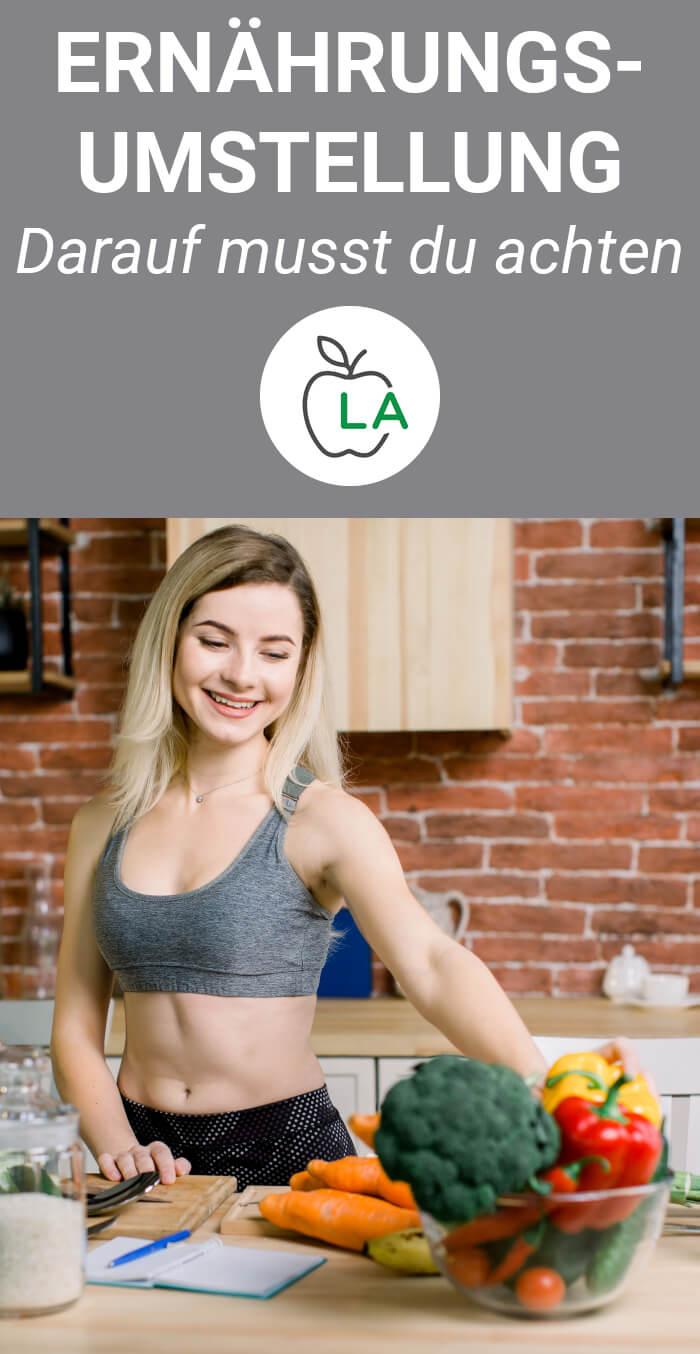 Ernährungsumstellung Tipps und Regeln