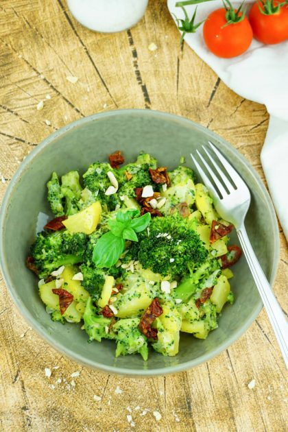 Kartoffel Brokkoli Pfanne - Fitness Rezept