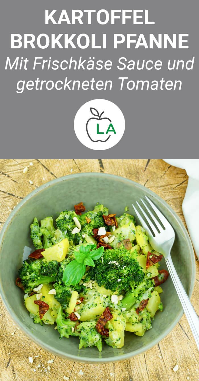 Kartoffel Brokkoli Pfanne - Vegetarisches Rezept
