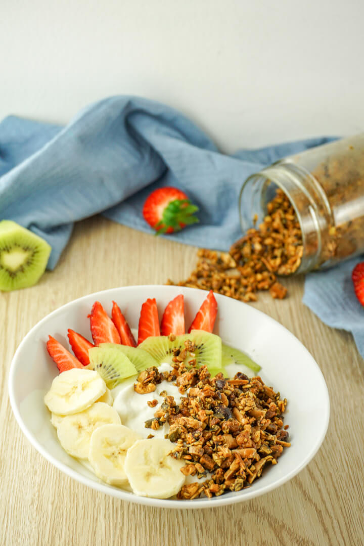 Low Carb Knuspermüsli - Rezept ohne Zucker