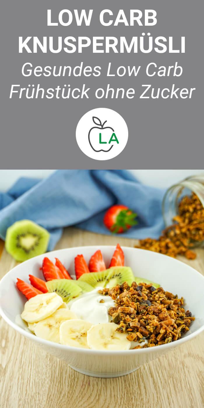 Low Carb Müsli als Frühstück ohne Zucker