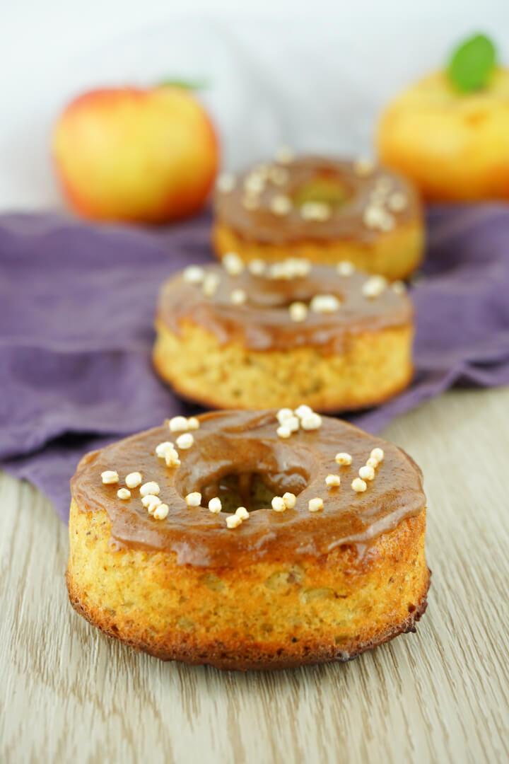 Zuckerfreie Donuts selber machen - Glutenfreies Rezept