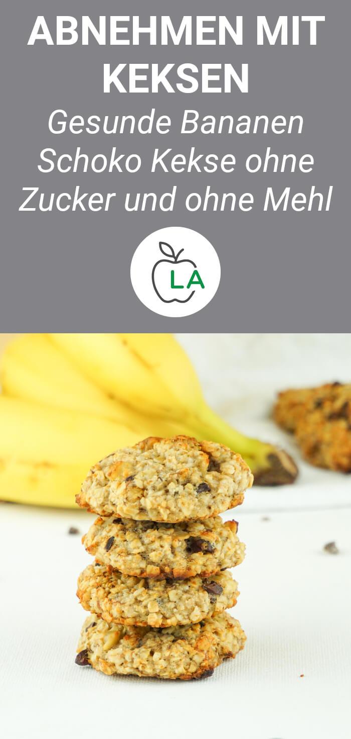Bananen Haferflocken Kekse - Veganes Rezept