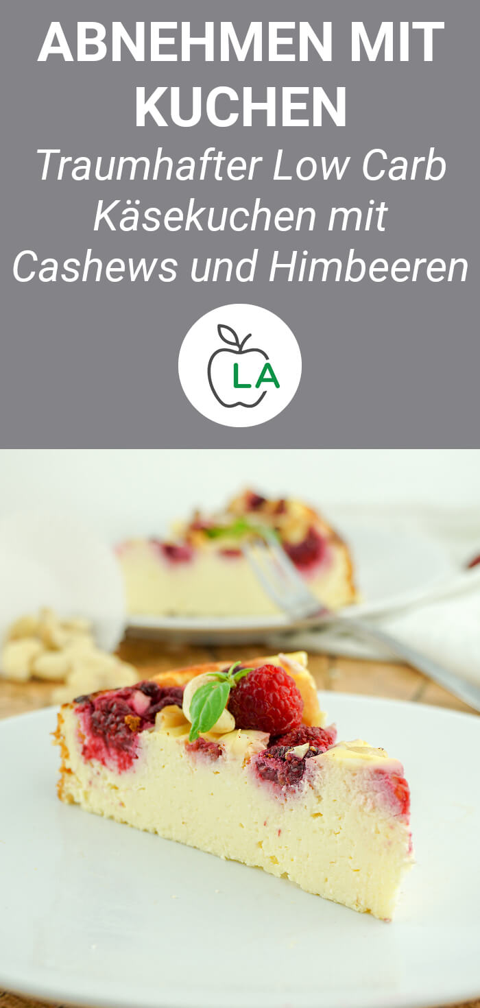 Low Carb Cheesecake ohne Boden