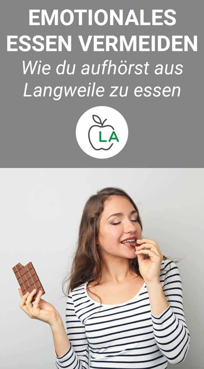 Tipps gegen Essen aus Langeweile