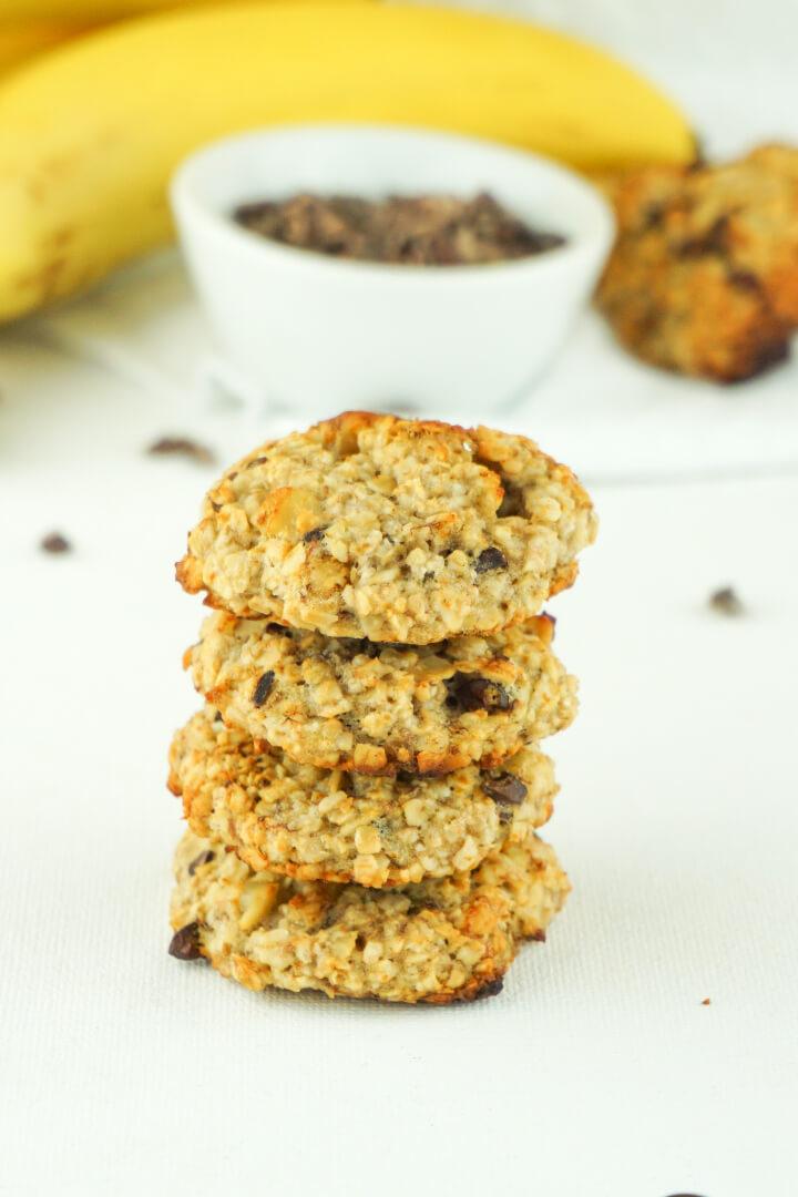 Zuckerfreie vegane Kekse - Gesundes Rezept