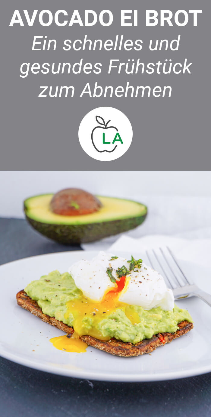 Avocado Ei Brot - Gesundes Frühstück