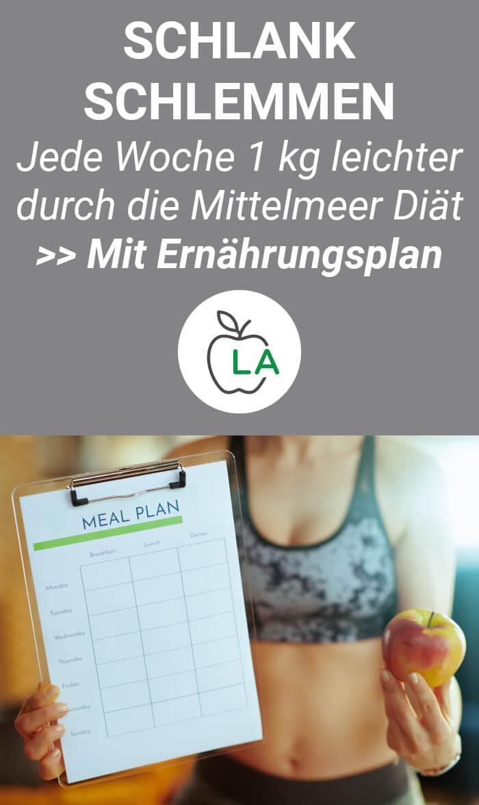 7 Tagesplan für die mediterrane Diät