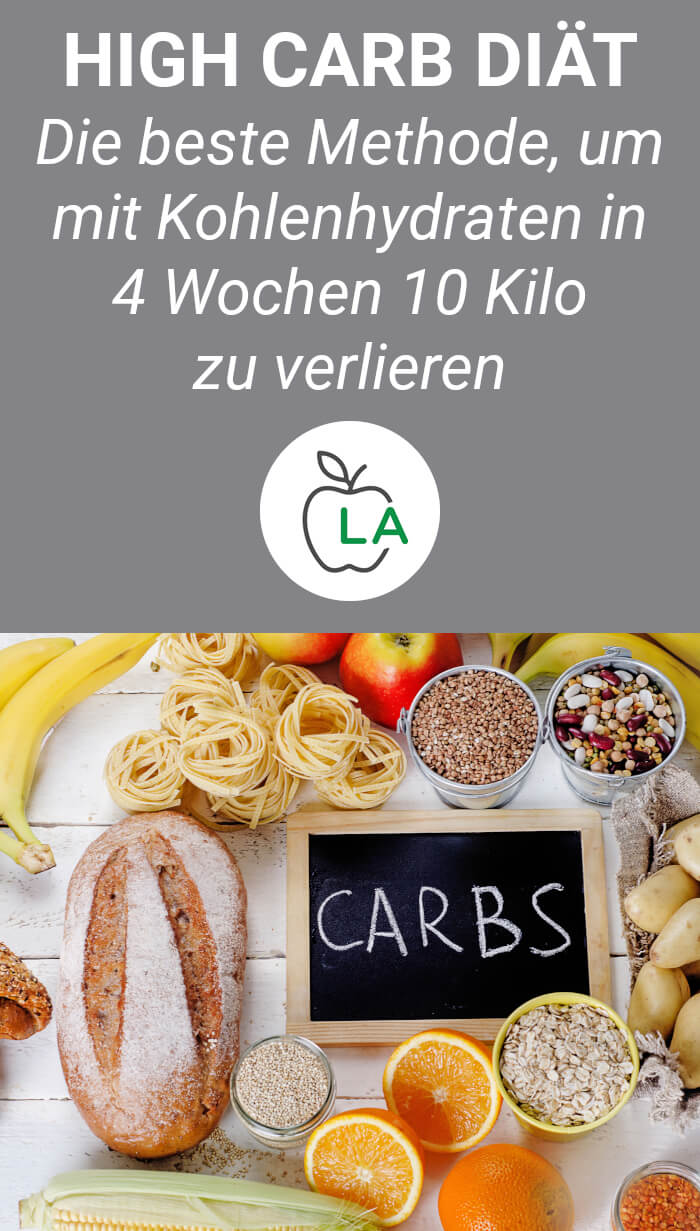 Fett verlieren durch High Carb Diät