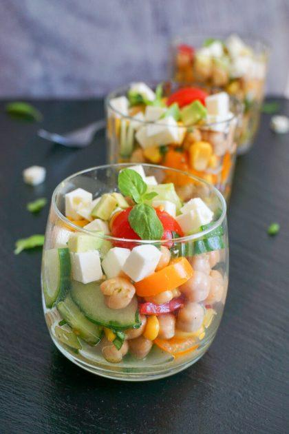 Kichererbsen Salat Rezept