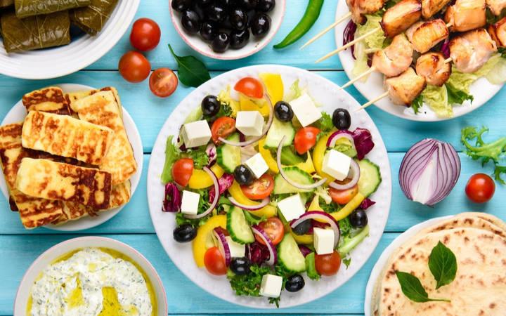 Mittelmeer Diät und mediterrane Ernährung