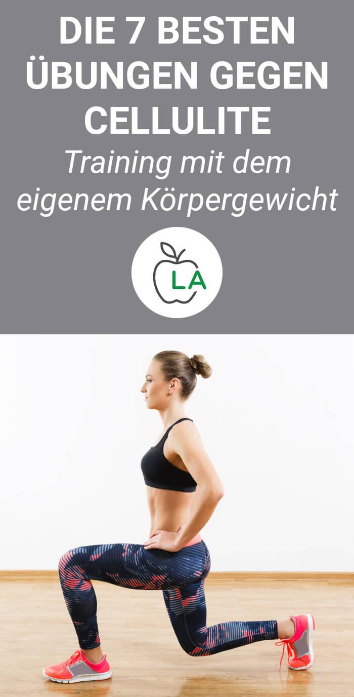 Übungen gegen Cellulite