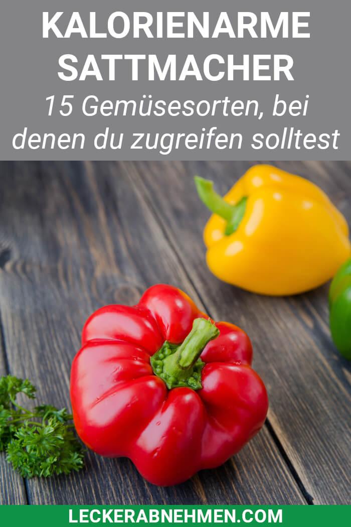 Gemüse mit wenig Kalorien