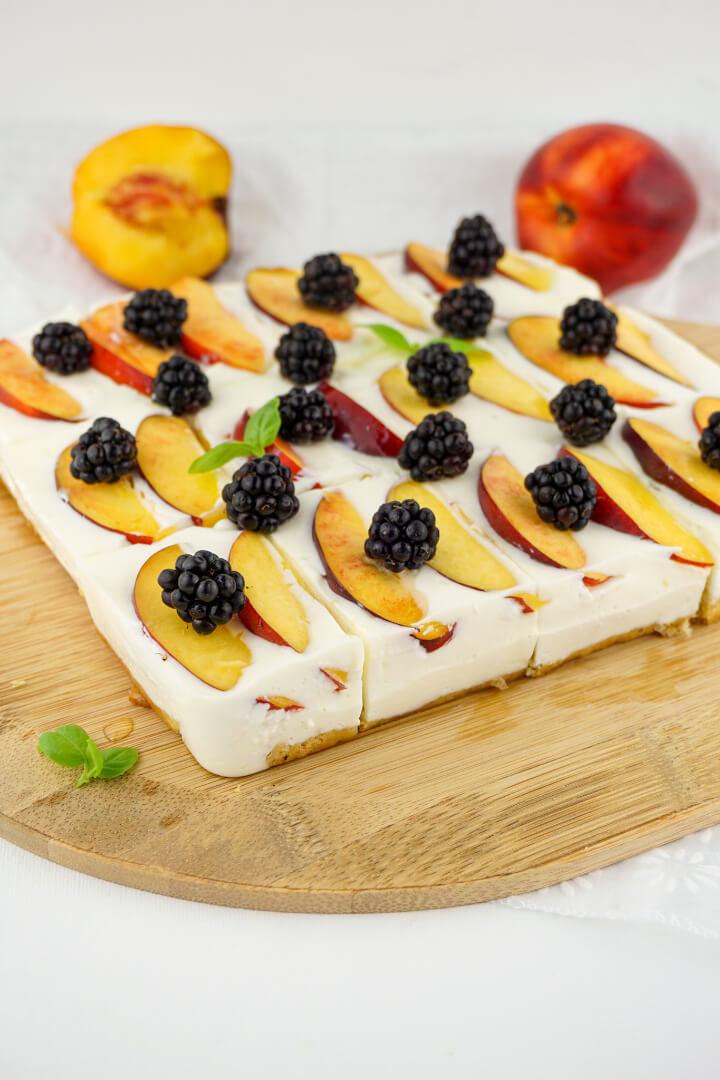 Kalorienarmer Joghurt Quark Kuchen